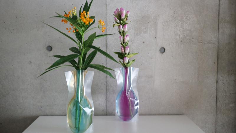 「割れない不思議な花瓶」子どもと一緒にお花のある暮らし